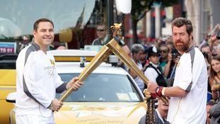 Walliams on carrying the torch