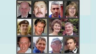 Twelve people were shot and killed by Derrick Bird