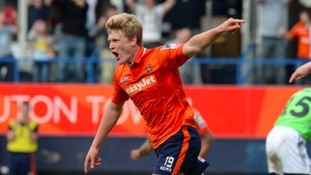 Cameron McGeehan will return to Luton