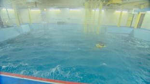 The training pool at South Tyneside College