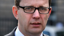 Andy Coulson arrives at the High Court in Edinburgh