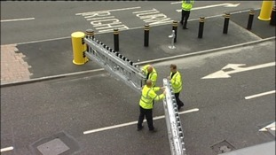 Security fasten barriers