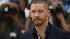 Tom Hardy has a popular beard