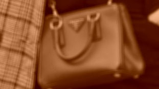File photo of a handbag