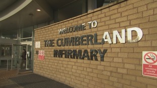 The Cumberland Infirmary is one of two hospitals in the region to receive a new 'support regime'