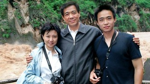 Gu Kailai and Bo Xilai and their son Bo Gua Gua