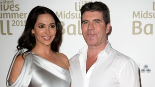 auren Silverman (left) and Simon Cowell