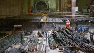Final breakthrough deep below London means Crossrail tunnelling is finally complete