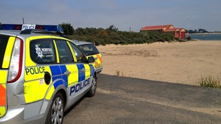 Police seal off section of Wells beach