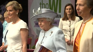 The Queen spoke to 5,000 WI members