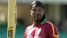 Big-hitter Chris Gayle says the size of the County Ground works in his favour.
