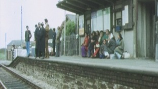 Tonfanau train station 1972