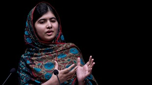 Malala was hot in the head in 2012.