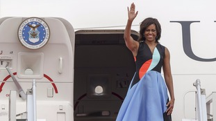 Michelle Obama will visit London with her mother and daughters.