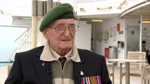 Normandy War Veterans return to the beaches of Northern France