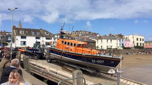 The Spirit of Derbyshire lifeboat