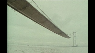 40 years since work began on Humber Bridge