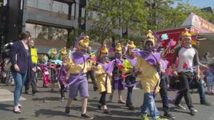 Middlesbrough Mela parade.