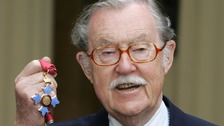Veteran broadcaster Alan Whicker died two years ago at the age of 87.