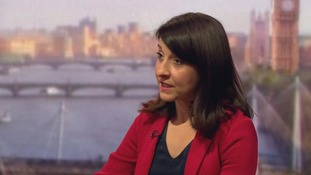 Labour leadership candidate Liz Kendall on The Andrew Marr Show.