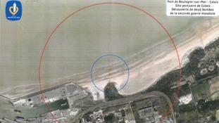 aerial photo calais