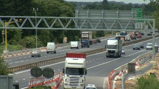 Overnight roadworks start again tonight along the A14 in Cambridgeshire.