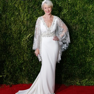 Helen Mirren said winning was an 'unbelievable honour'.