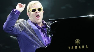 Sir Elton John performing in 2014.