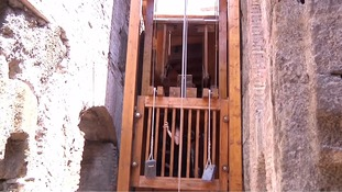 'Lion elevator' restored at Rome's Colosseum