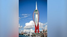 Spinnaker Tower, artist's impression