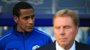 Ex-QPR boss Harry Redknapp backs Rio Ferdinand for West Ham managerial job