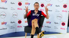 Sir Bradley Wiggins beat the record yesterday.