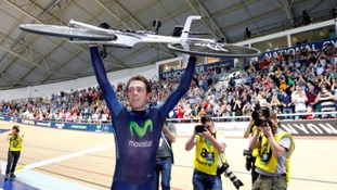 Alex Dowsett held the record for just over a month.