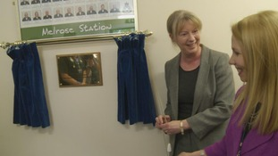 Health Minister Shona Robison and Pauline Howie, Chief Executive of Scottish Ambulance Service officially open the service