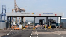 Some 15 of 68 migrants discovered inside lorries at Harwich International Port last week have already been deported.