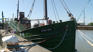 A campaign's been launched to repair the historic fishing vessel, Lydia Eva.