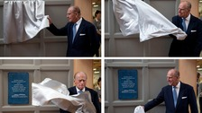 The Duke of Edinburgh opens an arts college