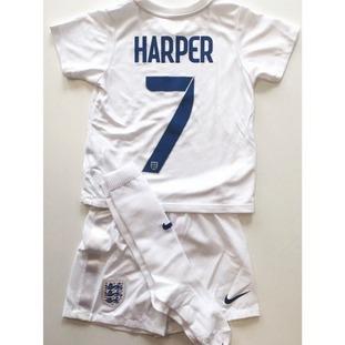 Harper Seven Beckham football kit