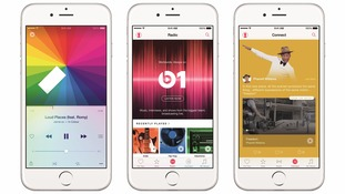 How the app will look on an iPhone