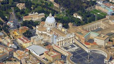 The nuns were staying near the Vatican