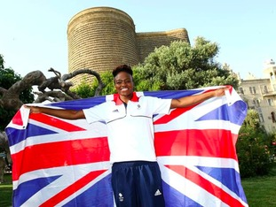 Nicola Adams has been selected as Team GB's flagbearer for Baku 2015