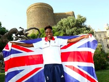 Nicola Adams has been selected as Team GB's flagbearer for Baku 2015