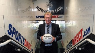 Steve McClaren at St James' Park