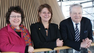 Elin Jones, Leanne Wood, Dafydd Elis-Thomas