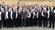 Langholm Town Band.