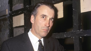 Christopher Lee attends a birthday party in June 1969.