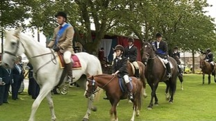 The Common Riding in 2014.