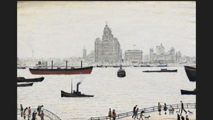 Rare Lowry painting of Liver Buildings to take centre stage at exhibition