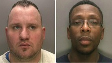 Aaron Alsop (pictured left) and Raphael Edwards' (pictured right) have been jailed for 20 years