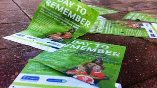 'Day to remember' flyers